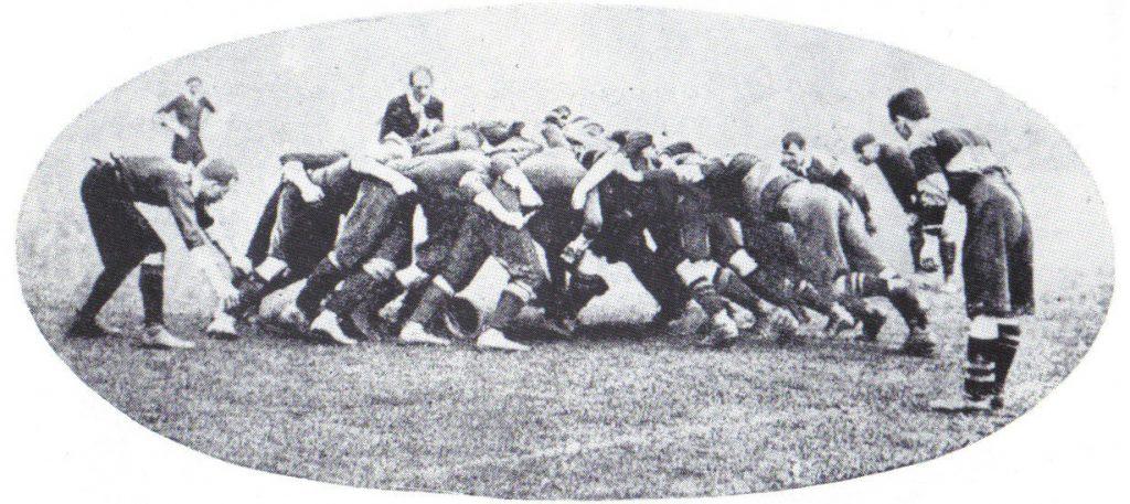 scrum melé rugby